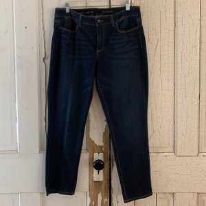Talbots ankle jeans Size 12 Petite